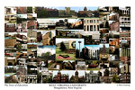 West Virginia University Campus Art Print