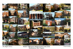 West Virginia Wesleyan College Campus Art Print