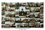 Washington and Lee University Campus Art Print
