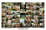 Waynesburg College Campus Art Print