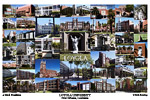 Loyola University New Orleans Campus Art Print