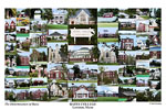 Bates College Campus Art Print